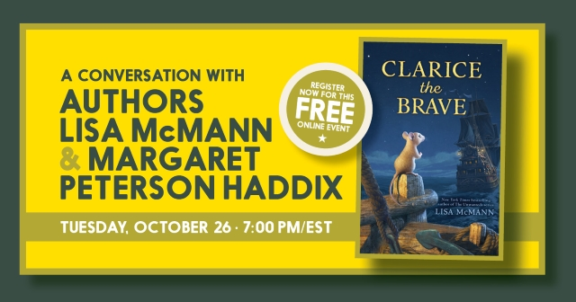 Authors Lisa McMann and Margaret Peterson Haddix in Conversation